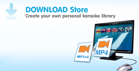 Karaoke Download Store, Create your own personal karaoke library